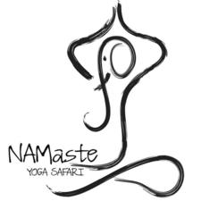 Logo Namaste Yoga Safari Namibia