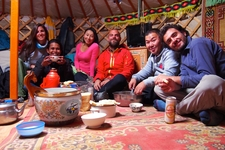 Share Meals With Local Nomadic Family