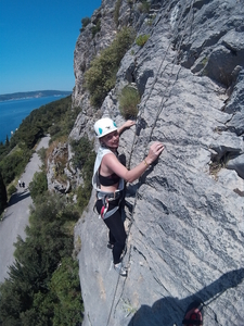Rock Climbing In Split With Given2fly Adventures2