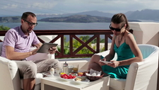 Honeymoon Couple At Fishtail Lodge