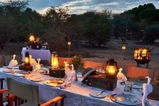 Outdoor Bush Dinner