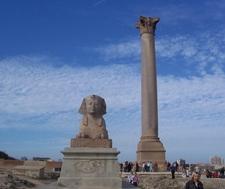 Pompey Pillar Tour In Alexandira