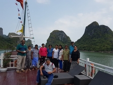 On Boat In Halong Bay