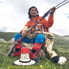 Tibetan Nomad People Lifestyle