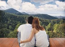 Couple On New Zealand