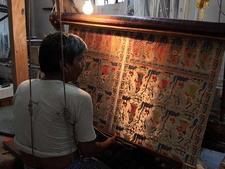 Varanasi Silk Saree Making