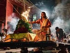 Ganga Aarti At Varanasi