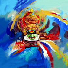 The Colours Of Kathakali
