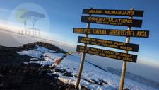 Tanzania Mt Kilimanjaro Summit Sign Sunrise11