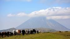 Oldoinyo Lengai Active Volcanic Mountain