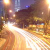 The Busy Ampang Road At Night
