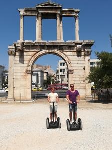 Modern Athens City Segway Tour1