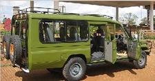 Www Nninzitours Com Gorilla Chimpanzee Tracking Uganda Wildlife Safari Game Drive East Africa 4x4 Landcruiser Safari Vehicle