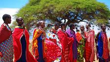 Kenya Map Masaimara
