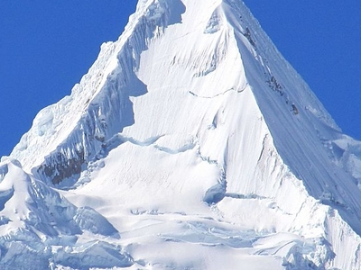 Alpamayo Peak - Cordillera Blanca Peru