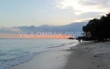 Beach Gili Trawangan Ombak Divers