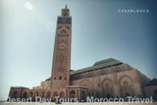 Hasan Ii Mosque In Casabalanca Morocco