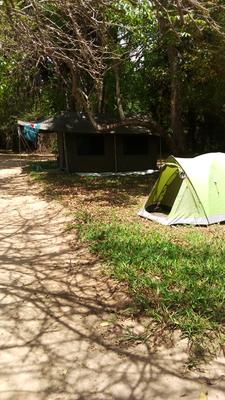 Camping At Selous Mtagalalala