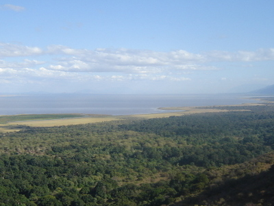 Overlook Of Lake Manyara National Park