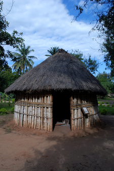 A Traditional Hut In The Village Museum