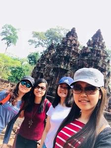 My Customers Had A Nice Photo At Angkor Wat Temple, Siem Reap, Cambodia.