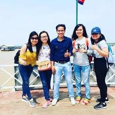 My Customers Had A Nice Photo At Tonle Sap Lake, Siem Reap, Cambodia.