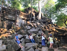 My Customers Had A Nice Photo At Beng Mealea Temple, Siem Reap, Cambodia.