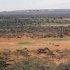 View From Swaneng Hill East Across The Kalahari