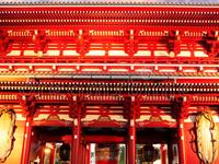 Tokyo Japan Asakusa Temple Sunset 65916641