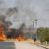Bush Fire In Usakos