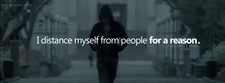 Distance Myself From People For A Reason Fb Cover Photo