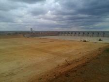 Massingir Dam Wall