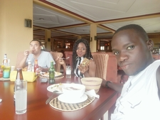 Delicious Lunch At Bunyonyi Resort Hotel