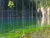 Kaindy Lake South  East  Kazakhstan