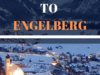 Private Airport Transfer From Zurich To Engelberg 1