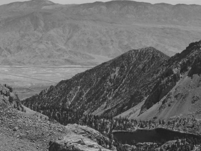 Owens  Valley From  Sawmill  Pass
