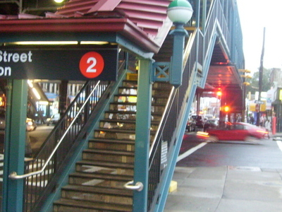 241steet Train Station Entry