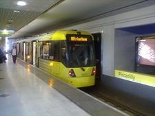 Piccadilly Metrolink Station