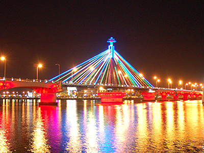 Han River Bridge At Night