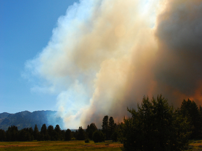 Angora  Ridge  Forest  Fire  South  Lake  Tahoe