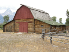4 Lazy F Dude Barn - Grand Tetons - Wyoming - USA