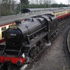 LMS Stanier Class 5 4-6-0 At Bridgnorth Railway Station