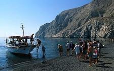 5kamari Beach Santorinisoul Com