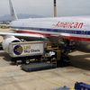 AA Boeing 777 At The Airport