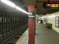 79th Street IRT Broadway Seventh Avenue Line