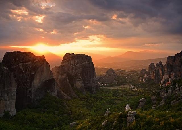 Sunset Meteora Tour Photos