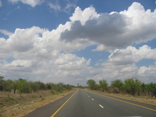 A14 Trunk Road Connecting Dar Es Salaam To The Northern Zone