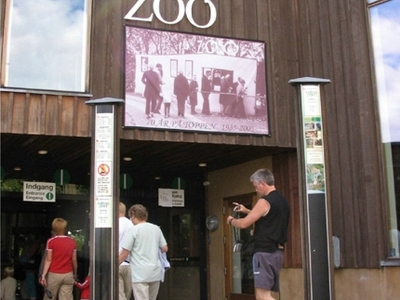 Aalborg Zoo Entrance