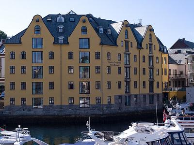 Aalensund Harbor