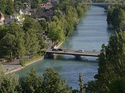 Aare At Bern - Switzerland